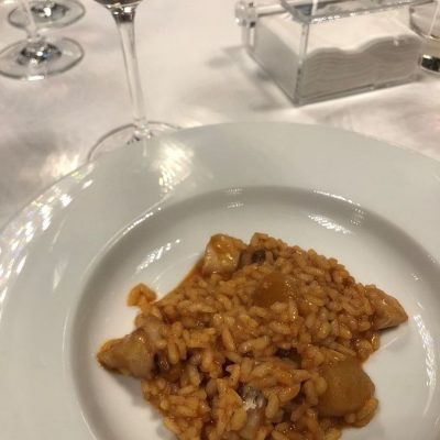 Arroz allipebrat de Corvina REX