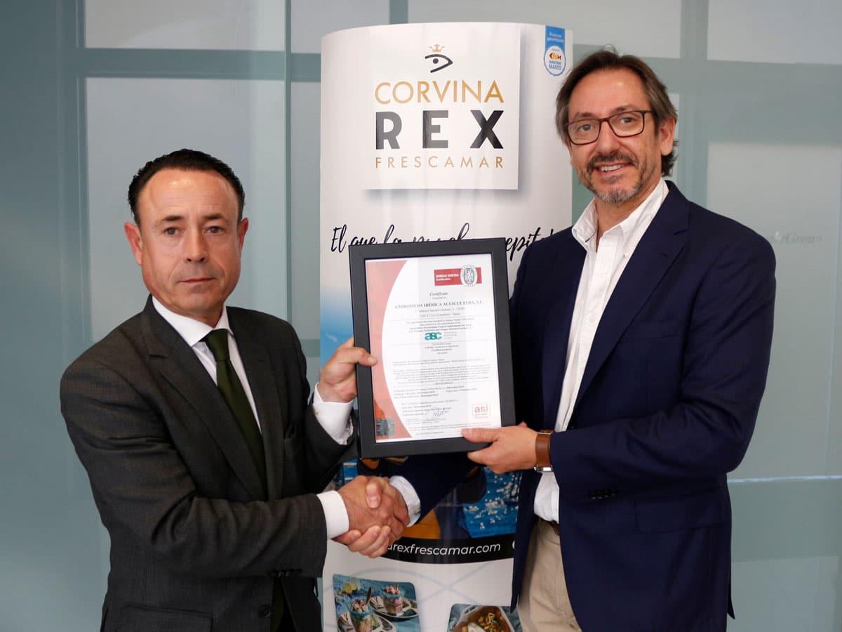 Entrega-Certificacion-ASC-Corvina-REX