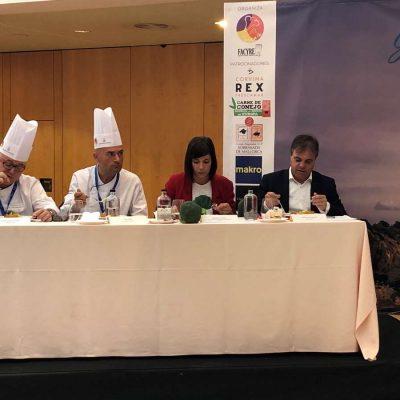 Jurado Corvina REX Certamen Nacional Gastro FACYRE