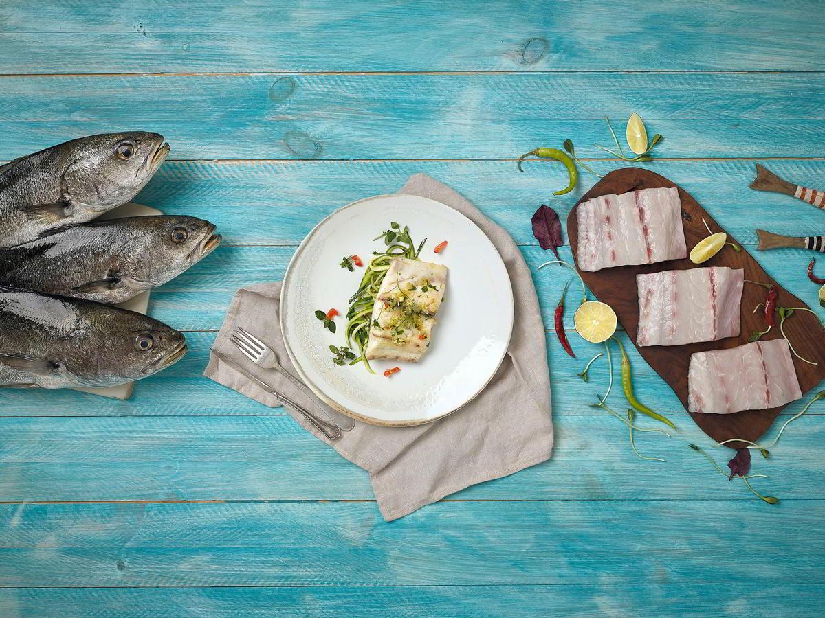 Corvina REX pescado saludable