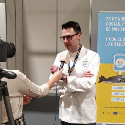 Entrevista a Fran Martinez en taller Crianza de Nuestros Mares para Madrid Fusion