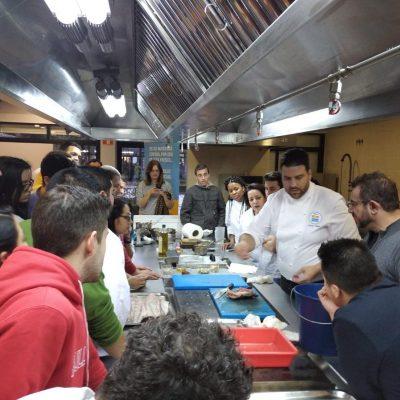 Escuela hostelería Madrid con Xanty Elias y Corvina REX