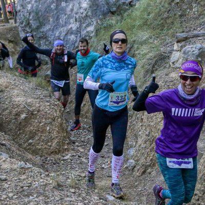 Partipantes femeninas Trail Trincheras