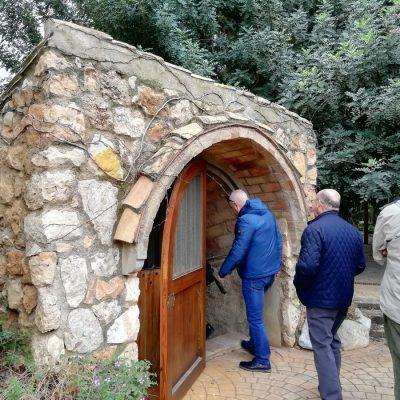 Bodega subterranea GASMA visita DECASA por Corvina REX