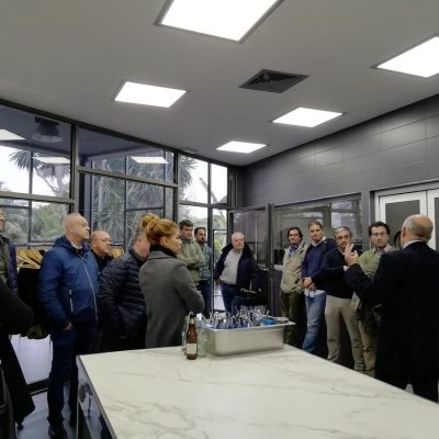 DECASA visita instalaciones GASMA con Corvina REX