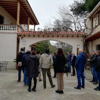 Visita campus GASMA por DECASA y Corvina REX