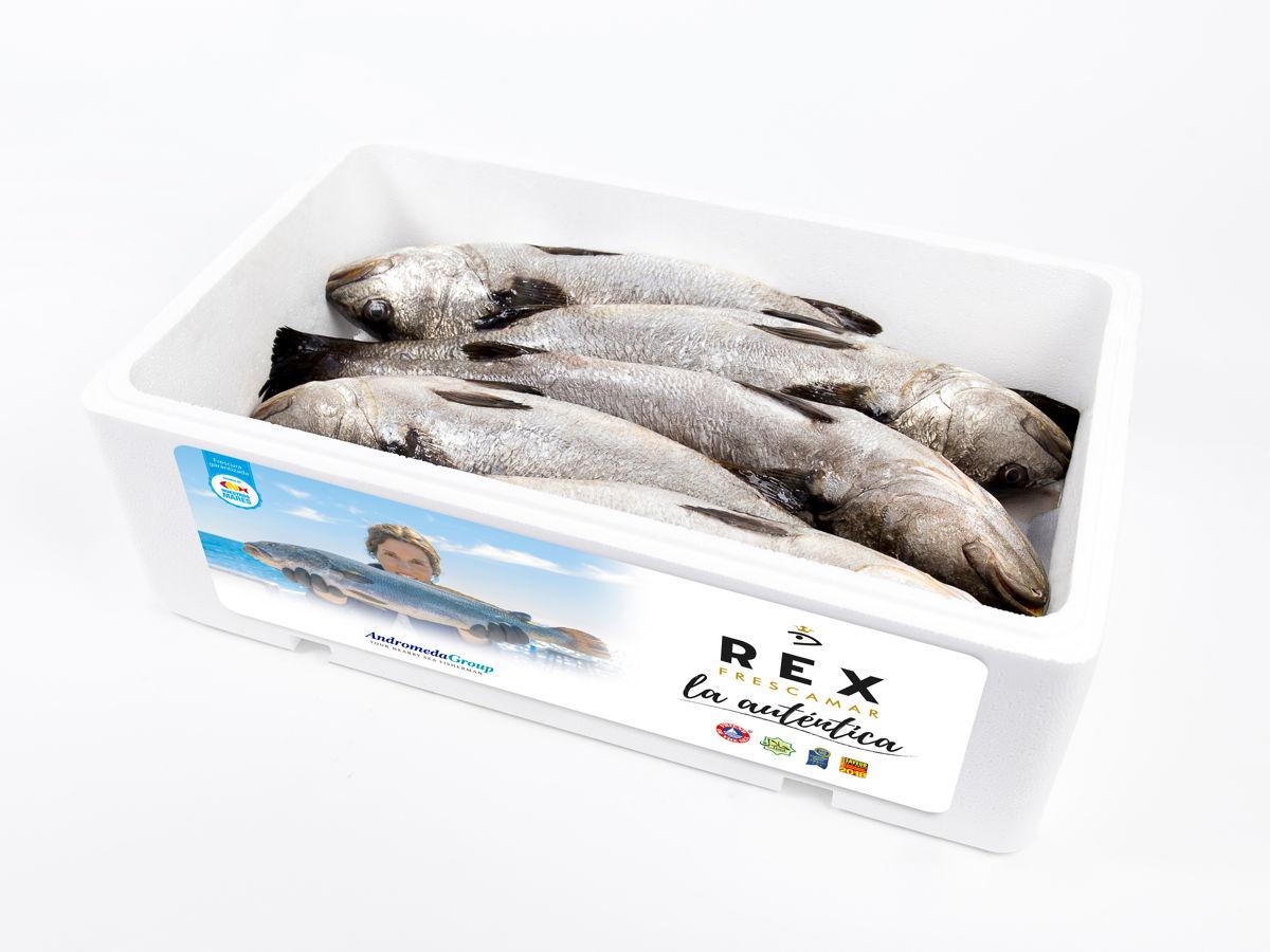 Corvina REX caja porex Promo Pescaderias